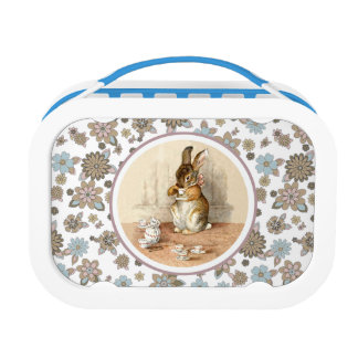 Lunch Box La gamelle vintage des enfants de cadeau de Pâques