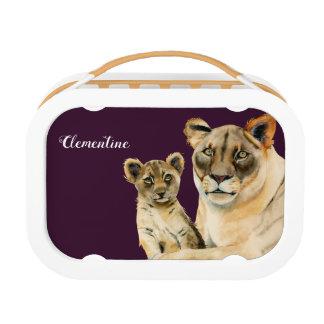 Lunch Box La lionne et le CUB | de la maternité | ajoutent