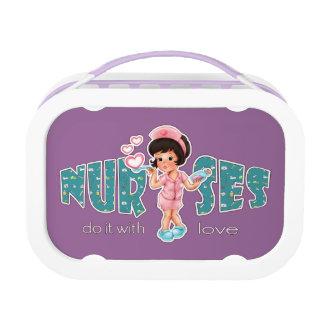 Lunch Box Les infirmières le font avec amour. Gamelle