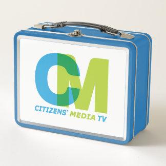Lunch Box Logo des médias TV des citoyens
