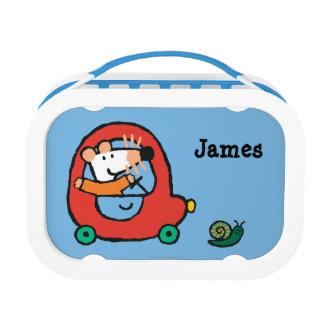 Lunch Box Maisy conduit une voiture rouge mignonne