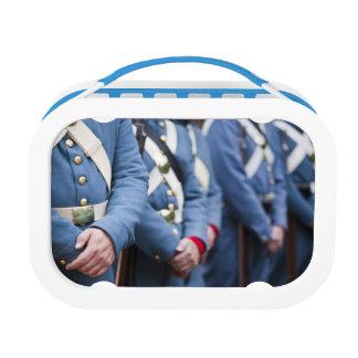 Lunch Box Marines civiles de Guerre-ère des USA, militaires