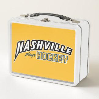 Lunch Box Nashville joue la gamelle d'hockey