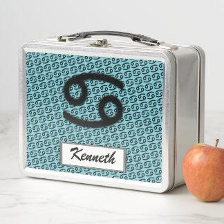 Lunch Box Norme de symbole de zodiaque de Cancer par Kenneth