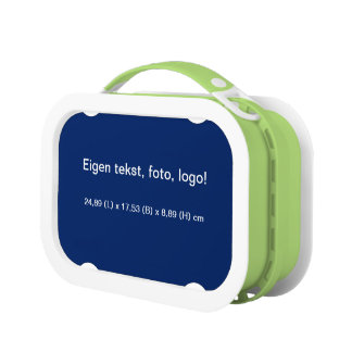 Lunch Box Panier-repas Blauw