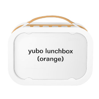 Lunch Box panier-repas de yubo (orange)