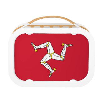 Lunch Box Panier-repas patriotique avec le drapeau d'île de