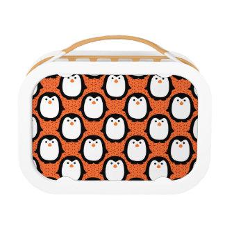 Lunch Box Peau mignonne de motif de pingouin