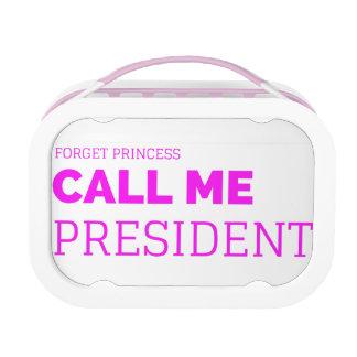 Lunch Box Petite Mlle le président