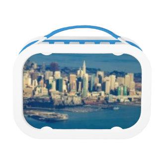 Lunch Box Photographie aérienne de la Baie de San Franciso