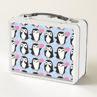 Lunch Box Pingouins dans l'amour