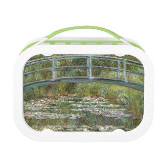 Lunch Box Pont au-dessus d'un étang des nénuphars par Claude
