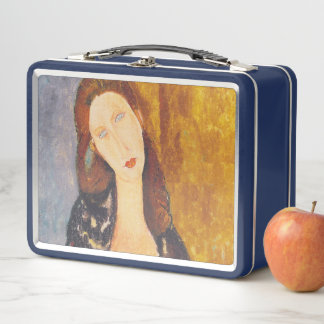 Lunch Box Portrait de Jeanne Hebuterne par Amedeo Modigliani