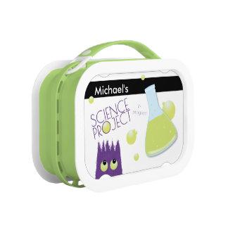 Lunch Box Projet personnalisable mignon de la Science