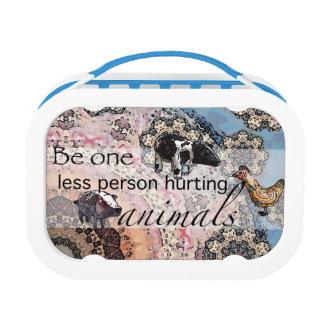 Lunch Box Soyez un moins de personne blessant des animaux
