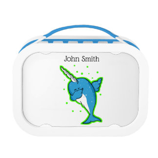 Lunch Box Tamponner mignon de Narwhal
