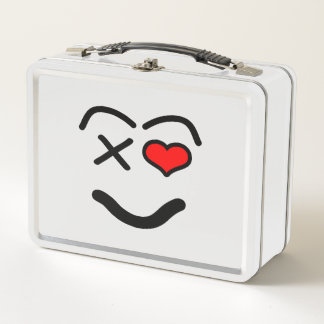 Lunch Box Visage drôle d'amour