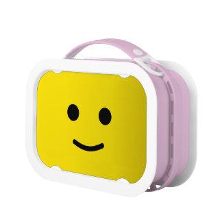 Lunch Box Visage souriant heureux jaune