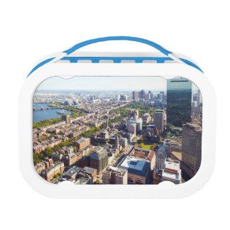 Lunch Box Vue aérienne de Boston