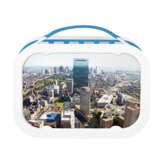 Lunch Box Vue aérienne de Boston 2