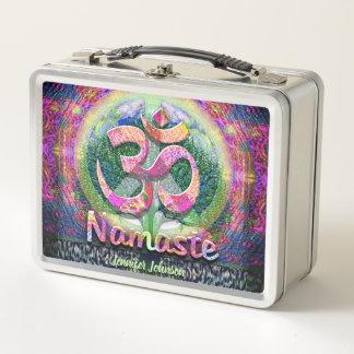 Lunch Box Yoga végétarien de paix de Namaste