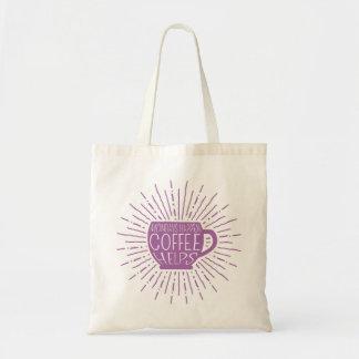 Lundi se produit ; Le café aide le rose de sac