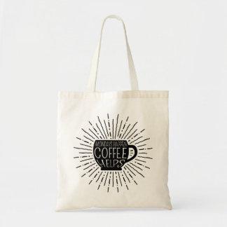 Lundi se produit ; Le café aide le sac fourre-tout