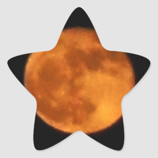 Lune 2016 de sang sticker étoile