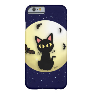 Lune avec le chat coque iPhone 6 barely there