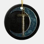 Lune celtique ornements