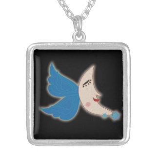 Lune d'aile d'ange collier