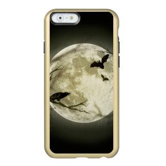 Lune de Halloween - illustration de pleine lune Coque iPhone 6 Incipio Feather® Shine