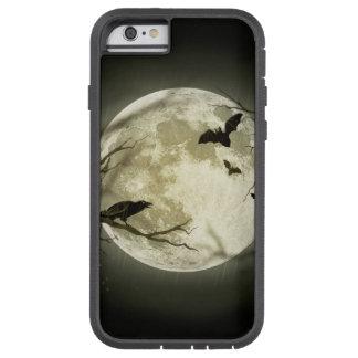 Lune de Halloween - illustration de pleine lune Coque iPhone 6 Tough Xtreme