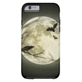 Lune de Halloween - illustration de pleine lune Coque Tough iPhone 6