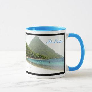 lune de miel, lune de miel, St Lucia, St Lucia Mug