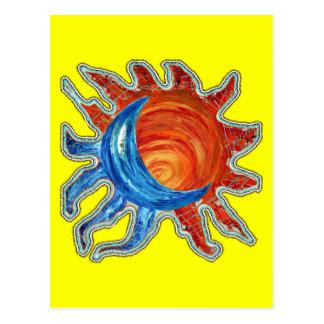 Lune de Sun N Carte Postale