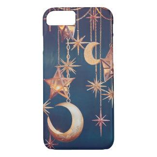 Lune et étoiles coque iPhone 7