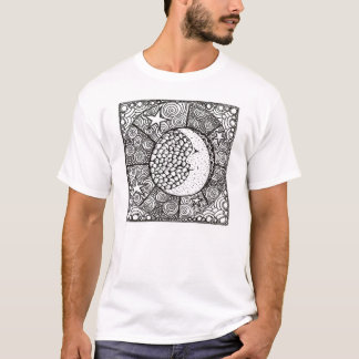 Lune et étoiles de soeur t-shirt