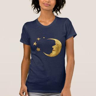 Lune et étoiles t-shirt