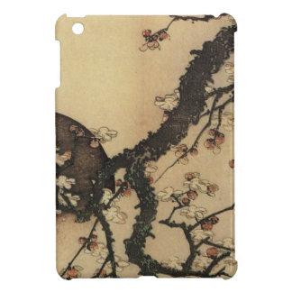 Lune et fleurs coques iPad mini