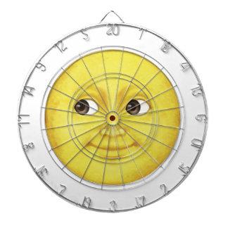 Lune jaune - Emoji Cibles De Fléchettes