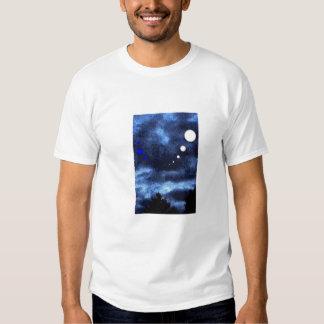 Lunes de ciel bleu t-shirt