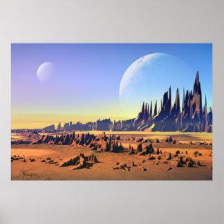Lunes de désert poster