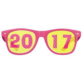 Lunettes De Fête Retro 2017 nouvelles années en verre d'Ève