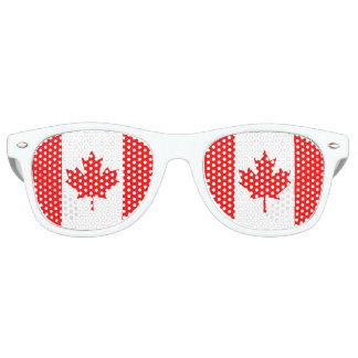 Lunettes De Fête Retro Drapeau du Canada