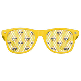 Lunettes De Fête Retro M. Cool Sunglasses Emoji