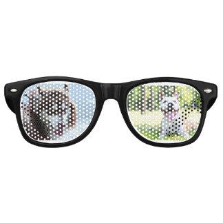 Lunettes De Fête Retro verres de chien