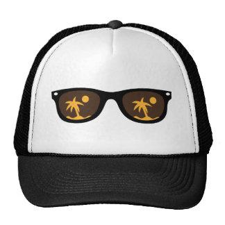 lunettes de soleil casquette trucker
