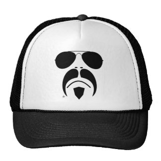 lunettes de soleil d'aviateur de moustache d'iRide Casquette