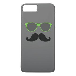 LUNETTES DE SOLEIL DRÔLES DE VERT DE MOUSTACHE COQUE iPhone 7 PLUS